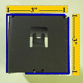 3 Inch Dual Fascia