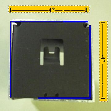 4 Inch Dual Fascia