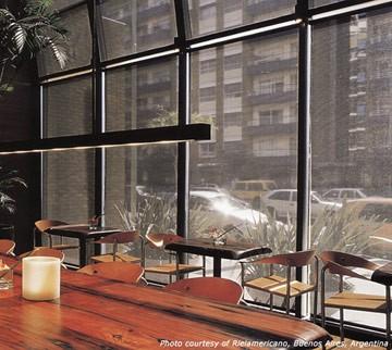 High Transparency Phifer Indoor Solar Shades North Solar