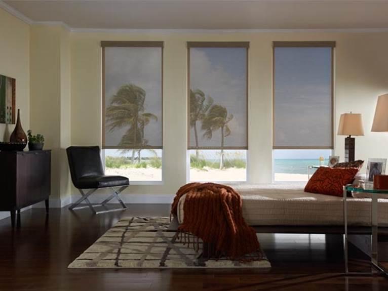Maximum Transparency Indoor Solar Shades North Solar Screen