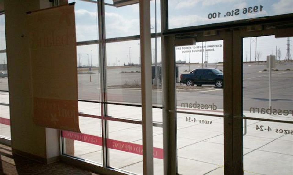 Storefront Indoor Film Shades Fade Reducing Shades North Solar