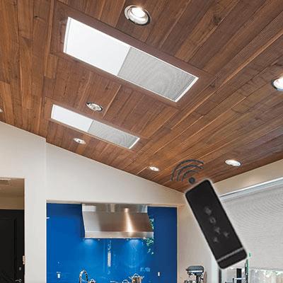Motorized Cellular Skylight Shades North Solar Screen