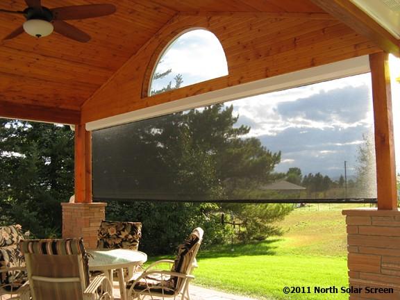 Baby Grande Solar Heavy Duty Outdoor Shades North Solar