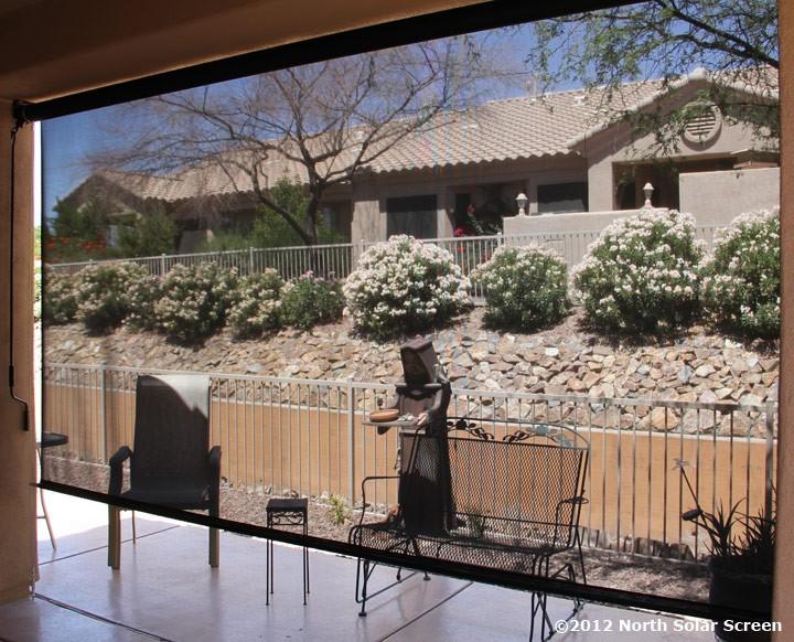 ebony outdoor solar shade grande