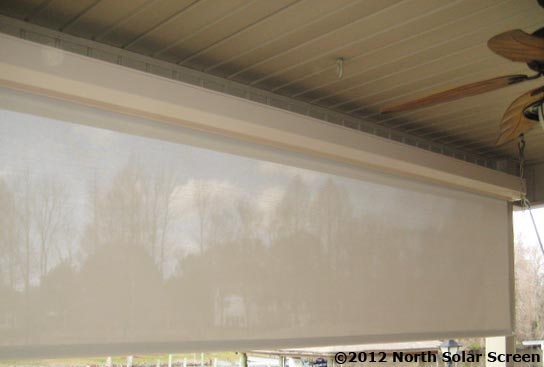 Large Heavy Duty Outdoor Solar Shades | North Solar Screen