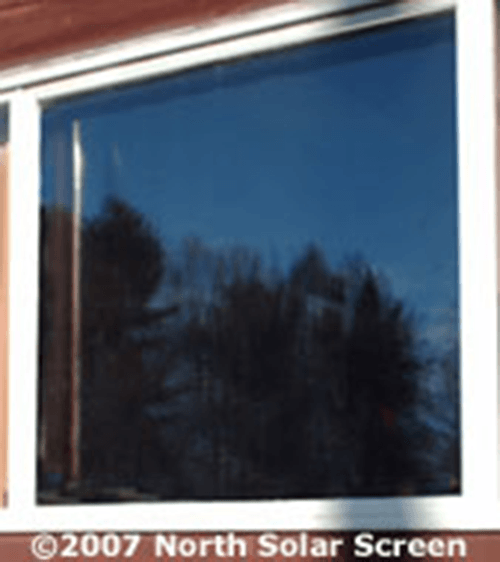 Smoke crystal view indoor shade