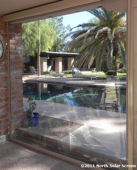 Affordable Clear Vinyl Outdoor Shades North Solar Screen