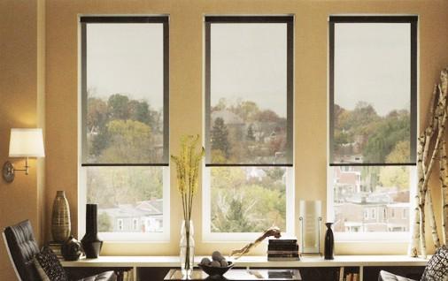 PVC free indoor solar shade