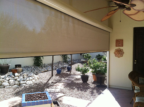 Fortress Outdoor Solar Shades For High Winds North Solar