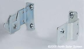 Indoor And Outdoor Shade Brackets North Solar Screen