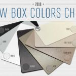 Housing box color chips that show options