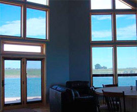 economical Chrystal View Film Shades