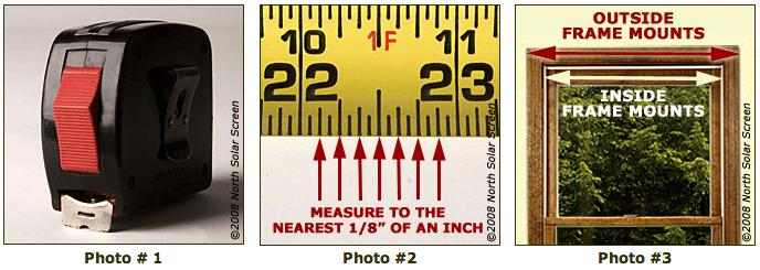 Indoor measuring instructions supplies