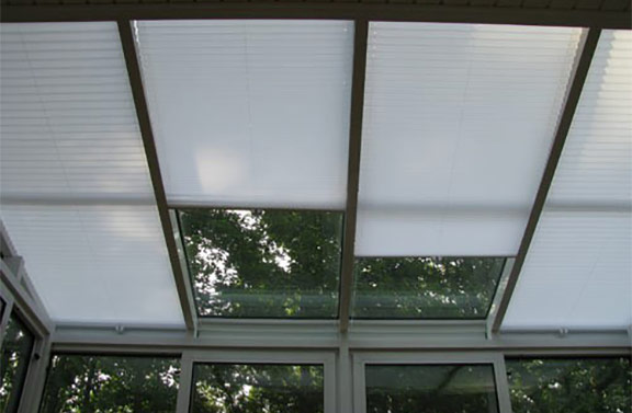 Skylight Shades Motorized Or Manual North Solar Screen