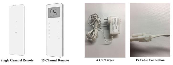 lion remotes and chargers