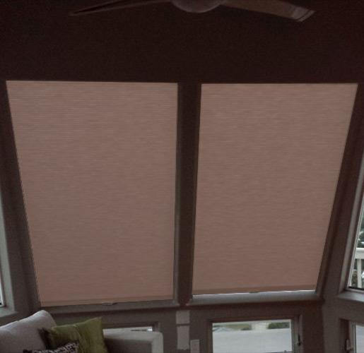 Premium Insulated Skylight Shade Sample