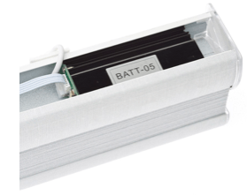 Battery motor for motor skylight shade
