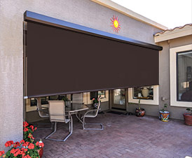grande large outdoor blackout shade