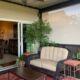porch with heavy duty motorized CITADEL shade