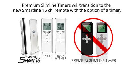 slimline timers for remotes