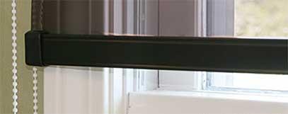 transparent film shades black bottom bar
